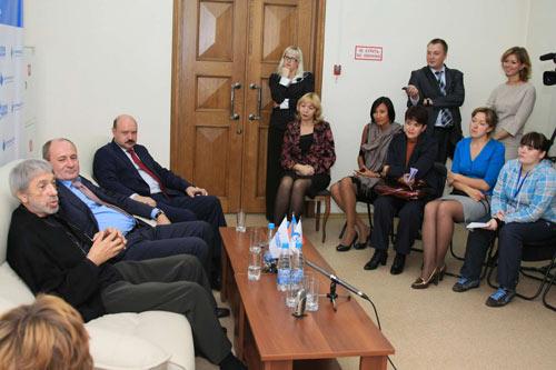 Пресс-конференция (г.Барнаул)