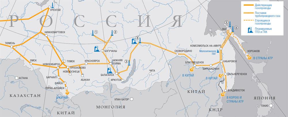 газотранспортной системы «